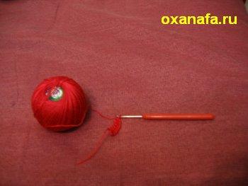 Вяжем гребешок для мягкой игрушки