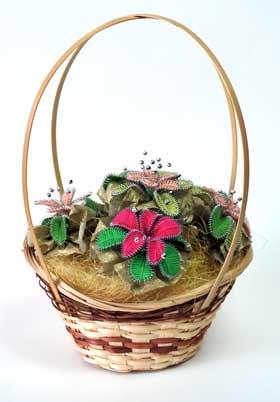 Самодельный букет цветов