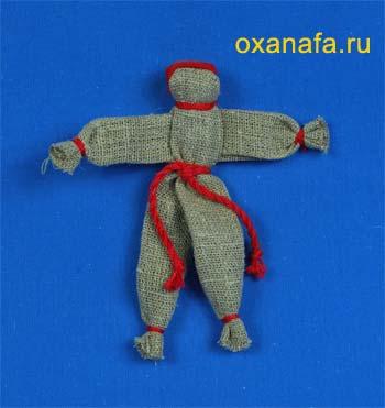 Кувадка - калужский куклак. Русская народная кукла