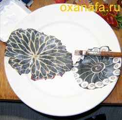 декупаж тарелок