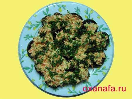 Рецепт приготовления баклажанов