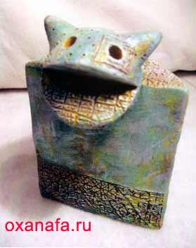 Керамика кошка
