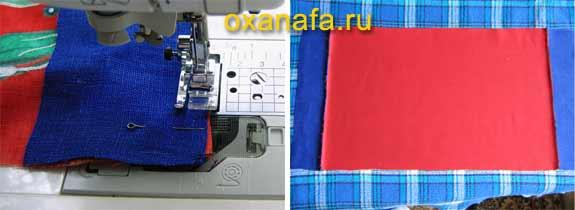 Шьем декоративную подушку с батиком