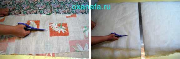 раскрой одеяла
