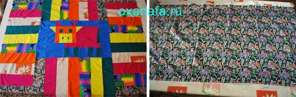 пэчворк для детского одеяла