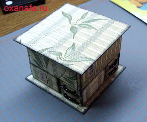 Скрапбукинг коробочка