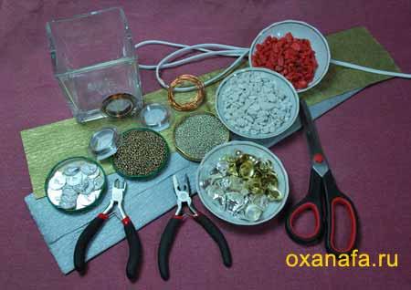 Материалы для изготовления дерева из бисера