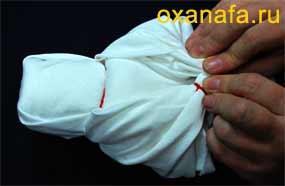 Проверка одинаковости рук куклы