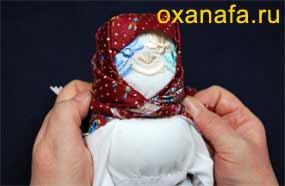 Изготовление русской куклы
