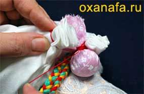 мешочек счастья для обережной куклы