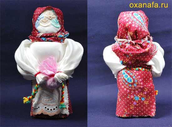 Традиционная русская тряпичная кукла Берегиня дома