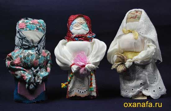 Традиционная русская тряпичная кукла