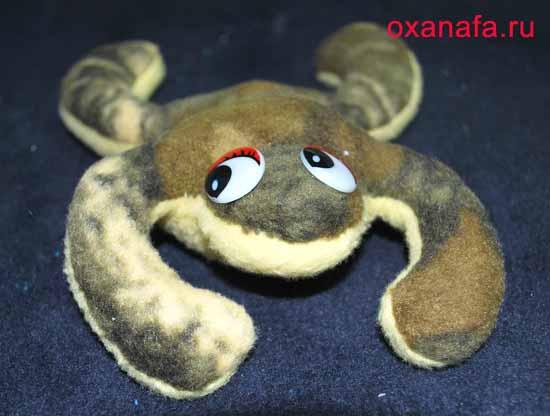 мягкая игрушка лягушки