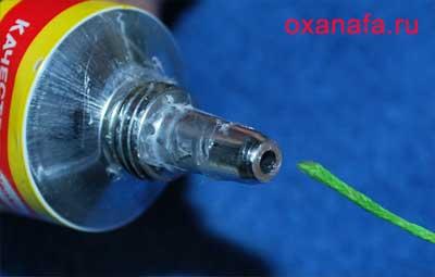 Обработка вощеного шнура