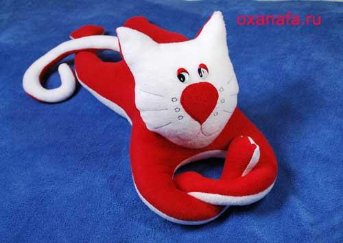Мягкая игрушка кошки своими руками