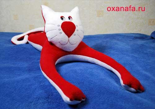 Мягкая игрушка кошки своими руками. Мягкая игрушка кота своими руками - Мастераполимернойглины.рф
