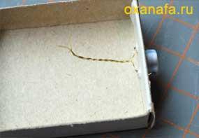 изготовление шкатулки скрапбукинг