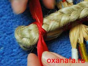мастер класс изготовления русской народной куклы десятиручки