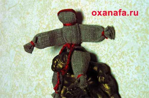 русская народная кукла тульско-калужский мужик куклак