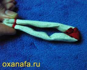 изготовление головы народной куклы