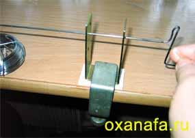 приспособление для намотки пружин для ганутели