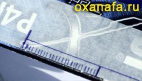 разметка прорезей самодельного станка для бисероплетения