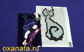 материалы для вышивки крестом на ткани