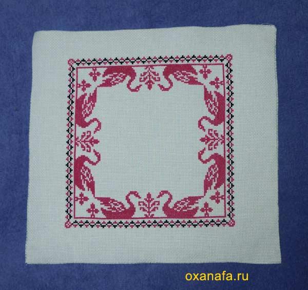 готовая вышивка крестом подушки