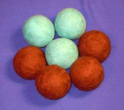 шары из шерсти для валяния