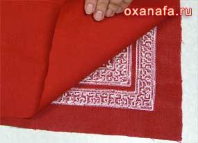 пошив декоративной подушки своими руками