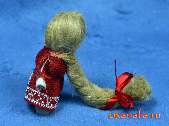 народная русская кукла на счастье