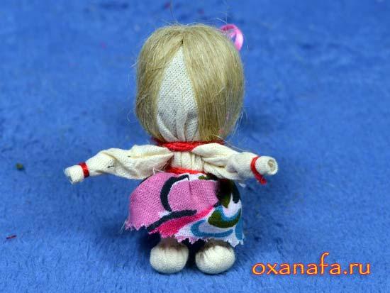 народная кукла на счастье
