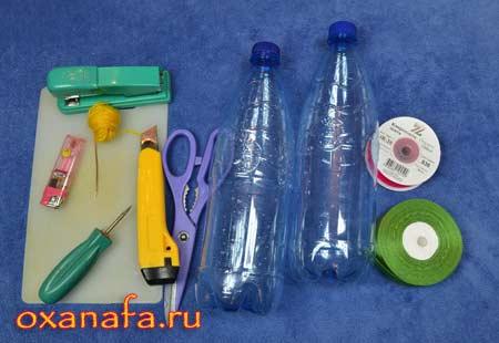 материалы для изготовления подарочной упаковки из пластиковых бутылок